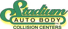 Stadium Auto Body Logo